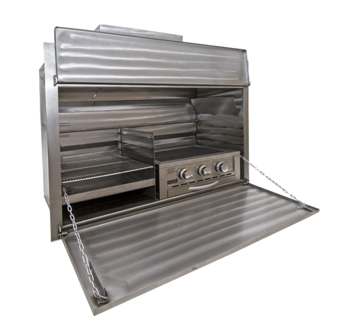 1200 COMBO STAINLESS STEEL BUILT IN BRAAI (EXCL 630 GAS INSERT)