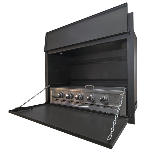 1000 BUILT-IN GAS BRAAI (EXCL 940 GAS INSERT)