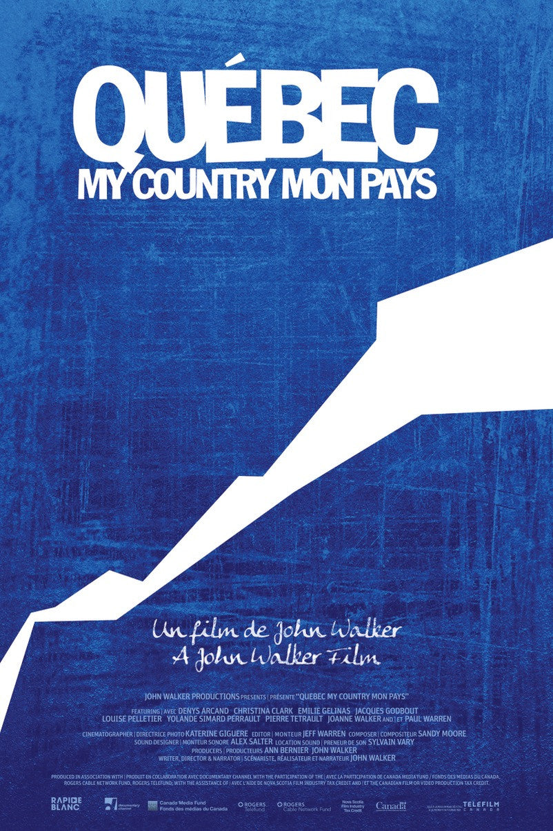 QUÉBEC MY COUNTRY MON PAYS - DVD