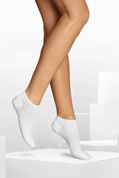 ITEM m6 Small'shoe size 4 -6.5 / White Everyday Sneaker Socks