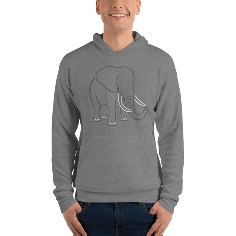 Elephant Type Figure Unisex hoodie - Ink Formation