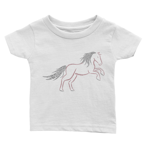 Horse Type Figure Infant Tee - Ink Formation