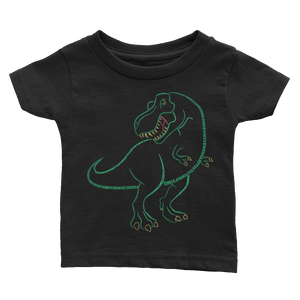 T-Rex Type Figure Infant Tee - Ink Formation