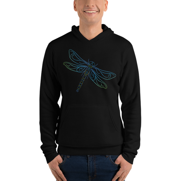 Dragonfly Type Figure Unisex hoodie - Ink Formation