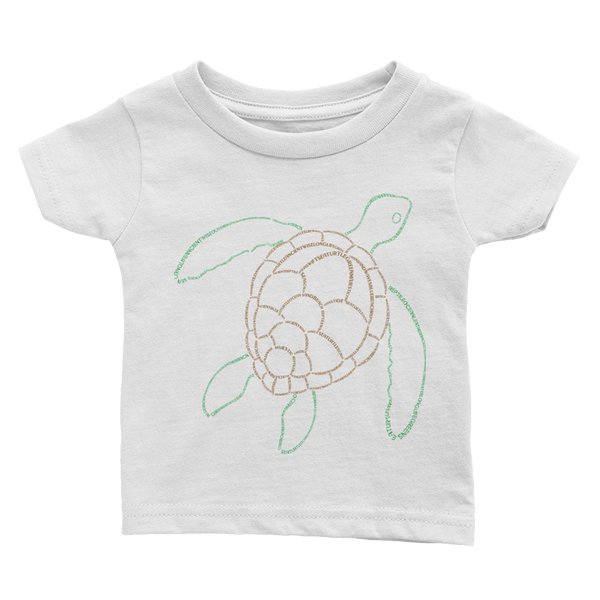 Sea Turtle Type Figure Infant Tee - Ink Formation