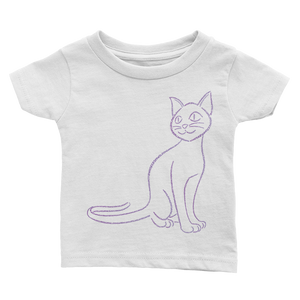 Cat Type Figure Infant Tee - Ink Formation