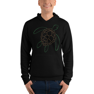 Sea Turtle Type Figure Unisex hoodie - Ink Formation