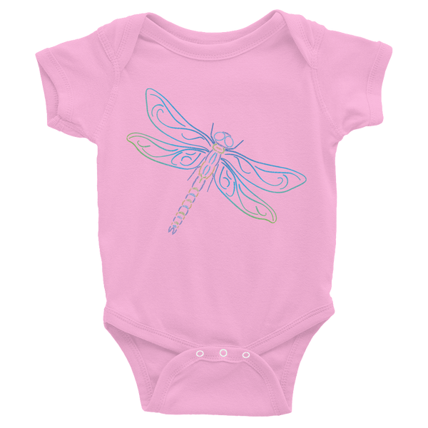 Dragonfly Type Figure Infant Bodysuit - Ink Formation