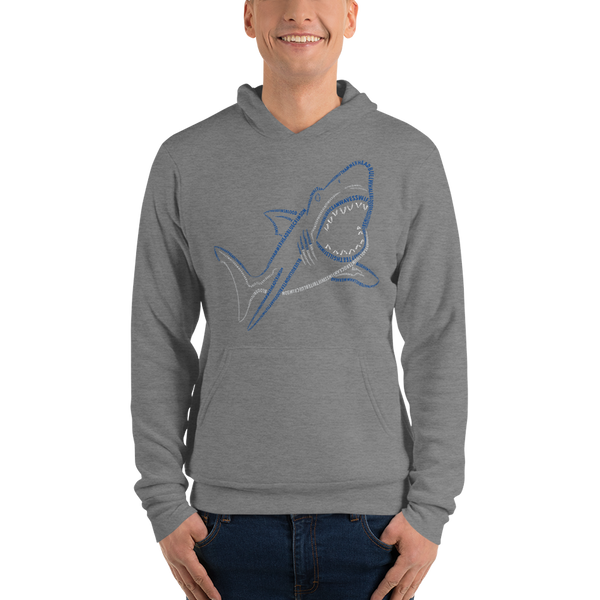 Shark Type Figure Unisex hoodie - Ink Formation