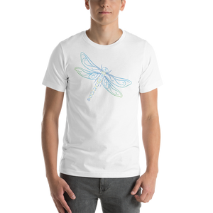 Dragonfly Type Figure Short-Sleeve Unisex T-Shirt - Ink Formation