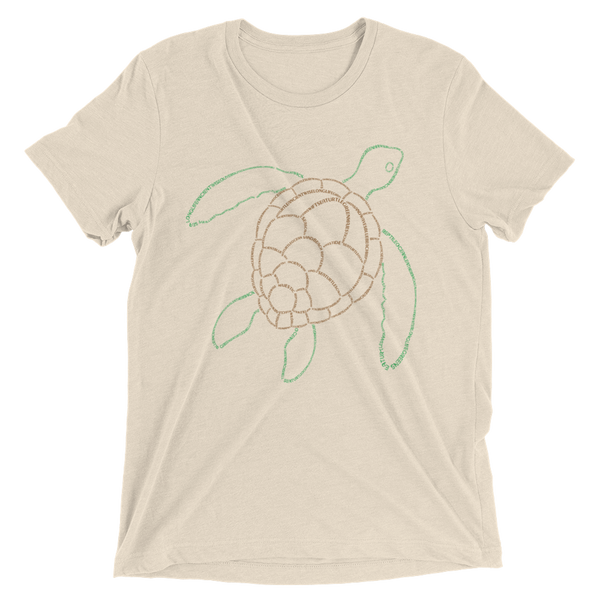 Sea Turtle Type Figure Ladies' Short sleeve t-shirt - Ink Formation