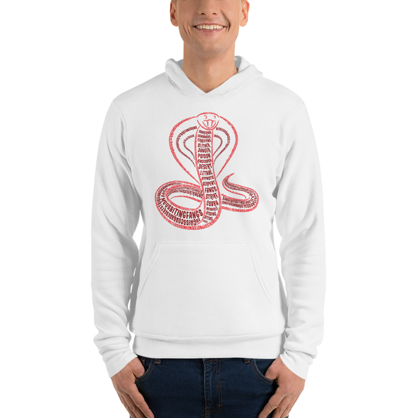 Cobra Type Figure Unisex hoodie - Ink Formation