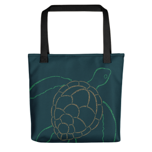 Sea Turtle Type Figure Tote bag - Ink Formation