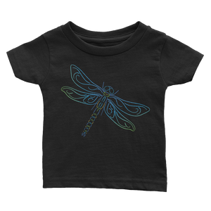 Dragonfly Type Figure Infant Tee - Ink Formation