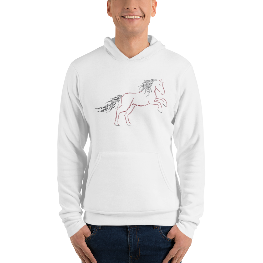 Horse Type Figure Unisex hoodie - Ink Formation