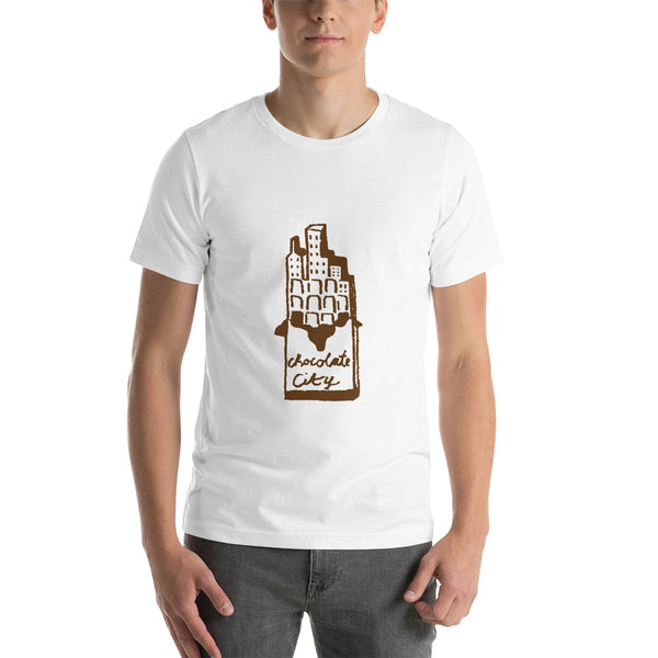 Chocolat City Short-Sleeve Unisex T-Shirt