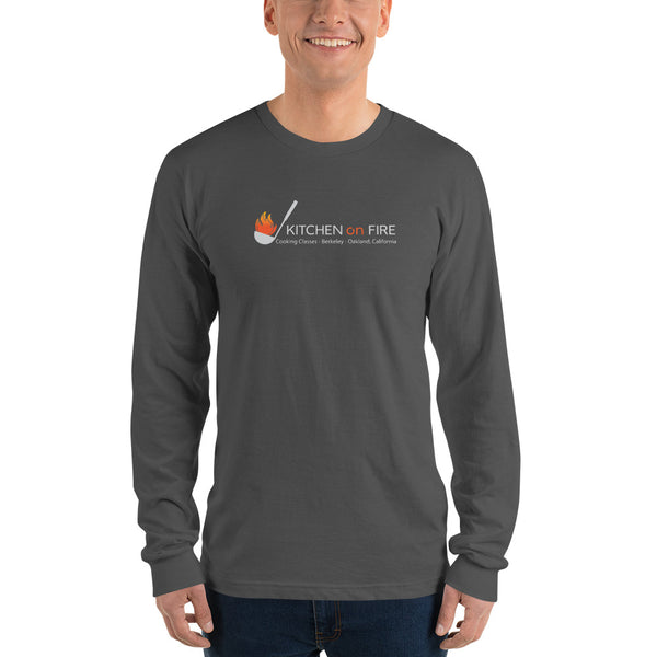 Kitchen on Fire #kitchenonfire Long sleeve t-shirt