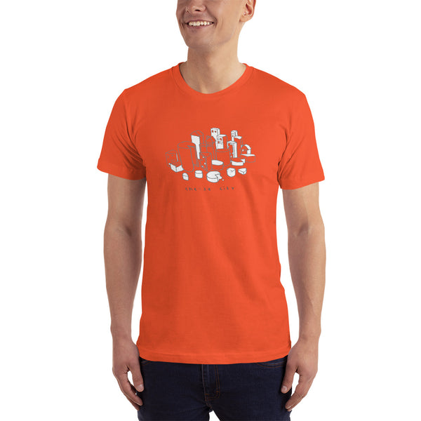 Cheese City #kitchen on fire T-Shirt