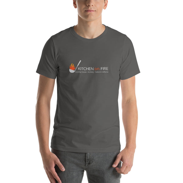 Kitchen on Fire Logo Short-Sleeve Unisex T-Shirt