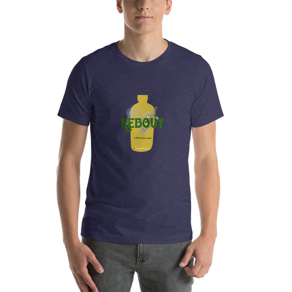 Natural Rebout plants based Drinks  Short-Sleeve Unisex T-Shirt