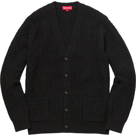 Supreme Cardigan (Black)