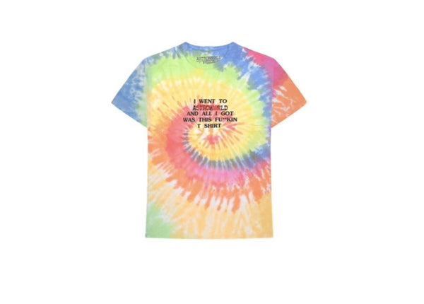 Astroworld Where Were You T-Shirt Tie Dye