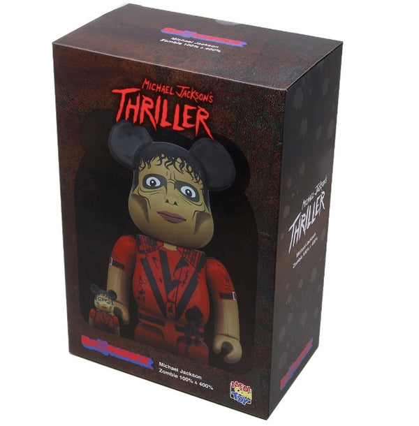Michael Jackson Thriller Bear Brick 100% + 400%