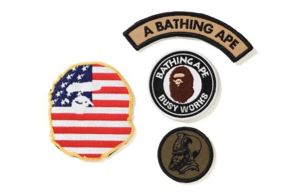 Bape Velcro Patch Set