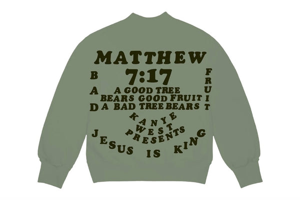 Yeezy CPFM Jesus Is King Crew