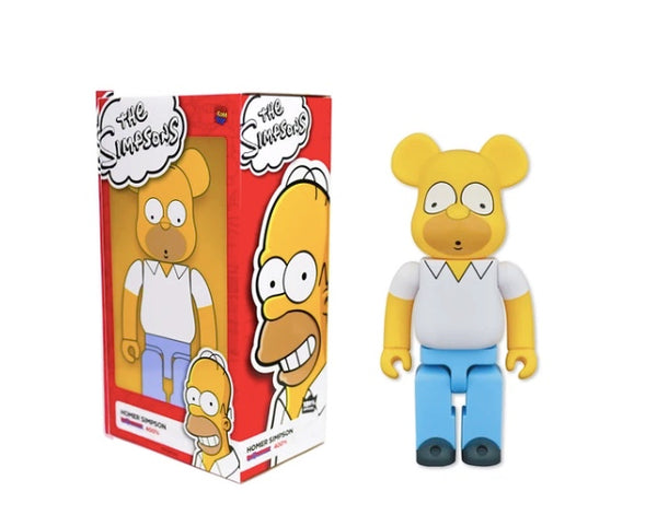 Homer Simpson Bear brick 400%
