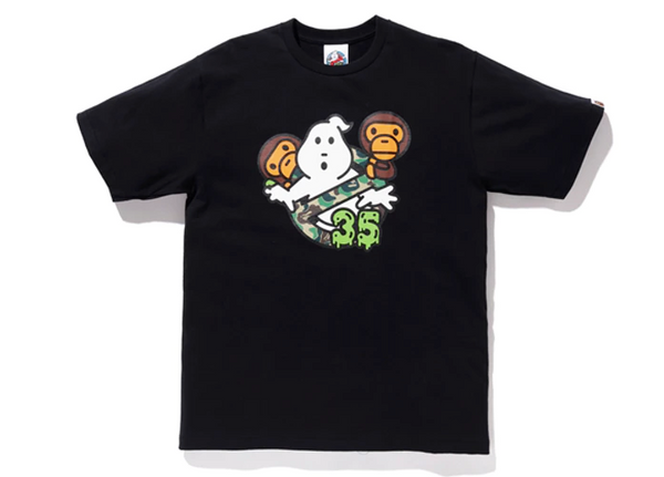 "Bape X Ghostbusters ""35"" T-Shirt (Black)"