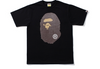 Bape Glass Beads Ape Head T-Shirt (Navy)