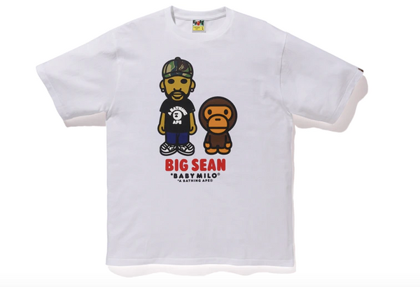 Bape X Big Sean T-Shirt (White)