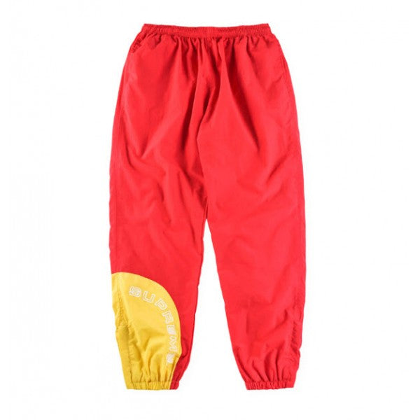 Supreme Corner Arc Track Pants (Red/Yellow)