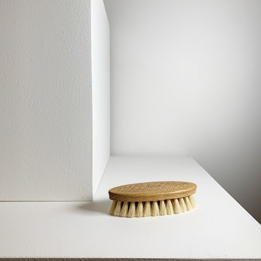 Handmade Oval Bath Brush