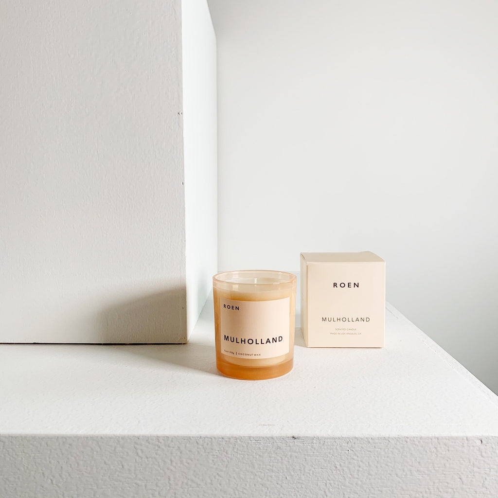 Handcrafted Coconut Wax Candles