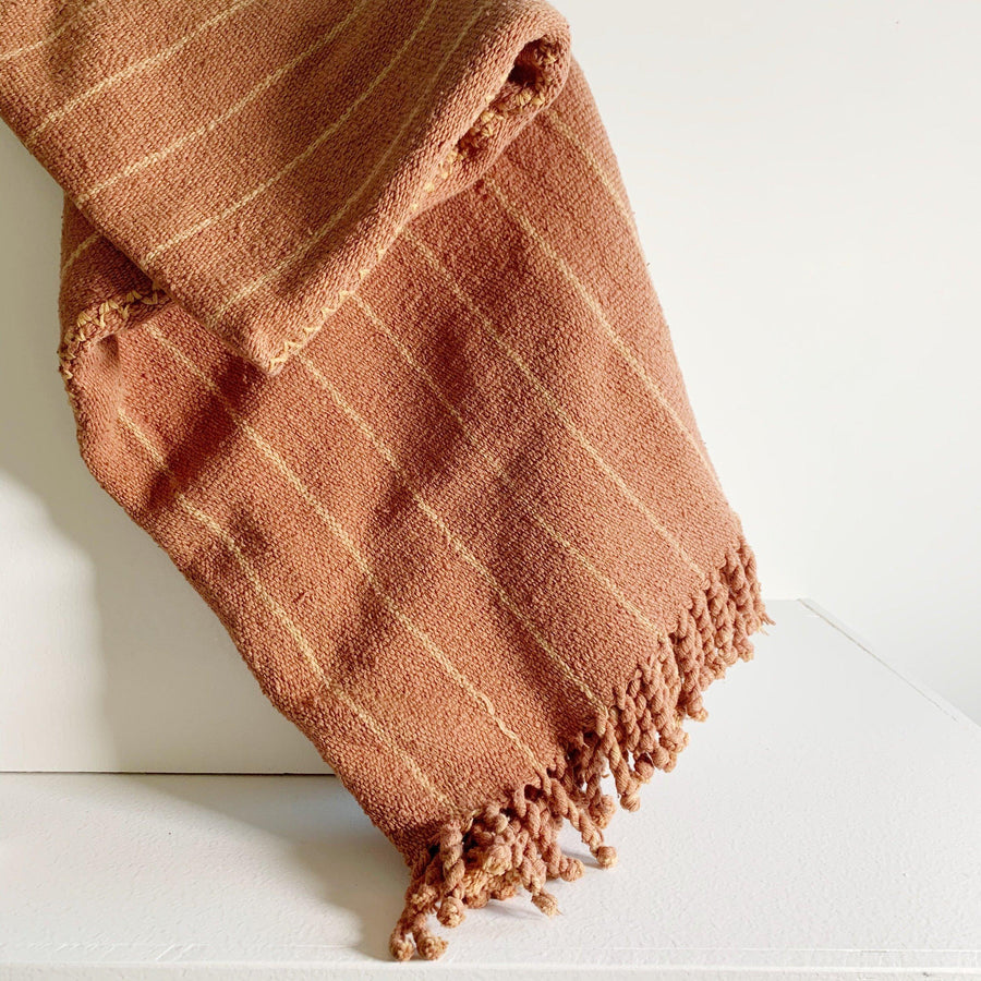 Handwoven Desert Cotton Throw