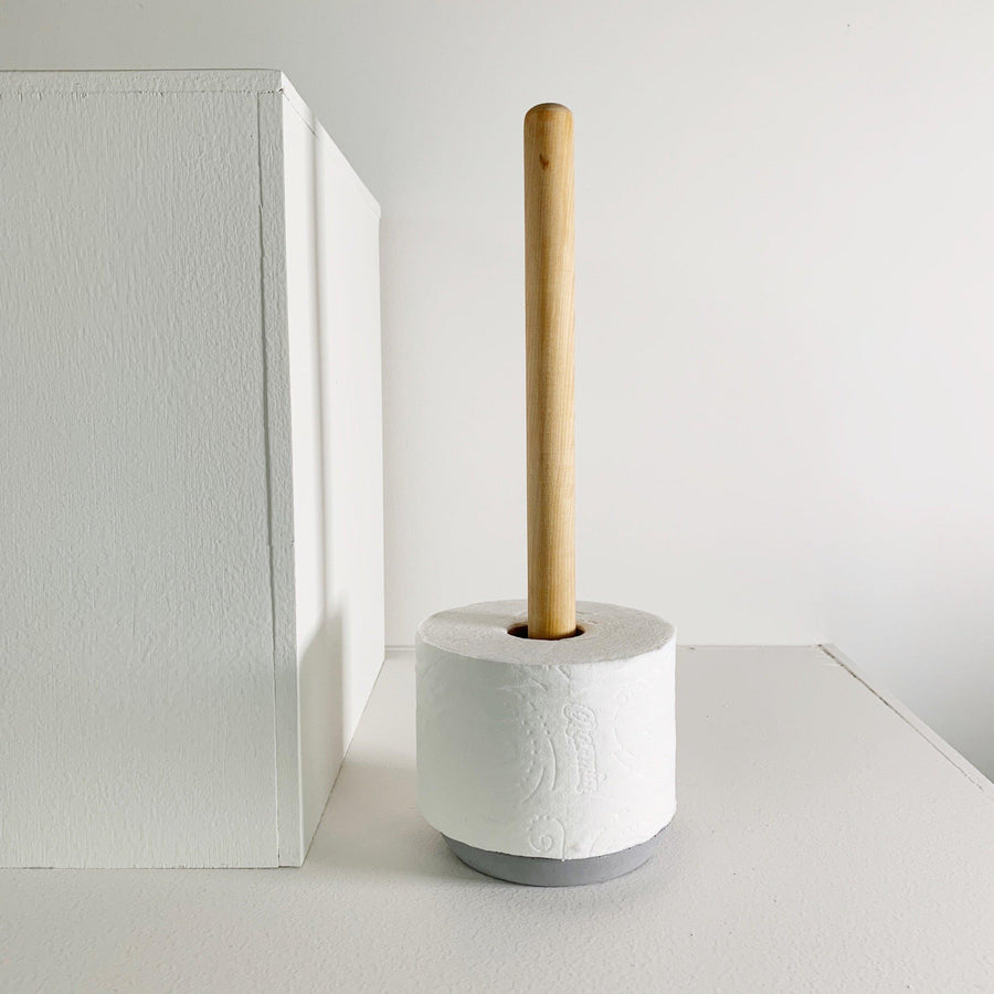 Toilet Paper Holder / Grey
