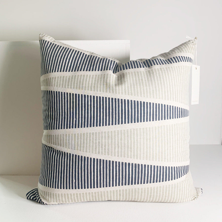 Dwell Block Print Pillow