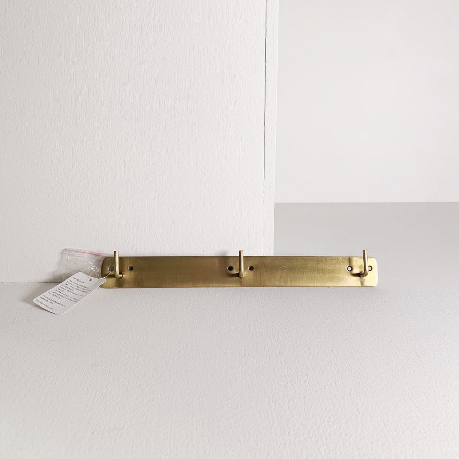 Brass Plate Triple Hook