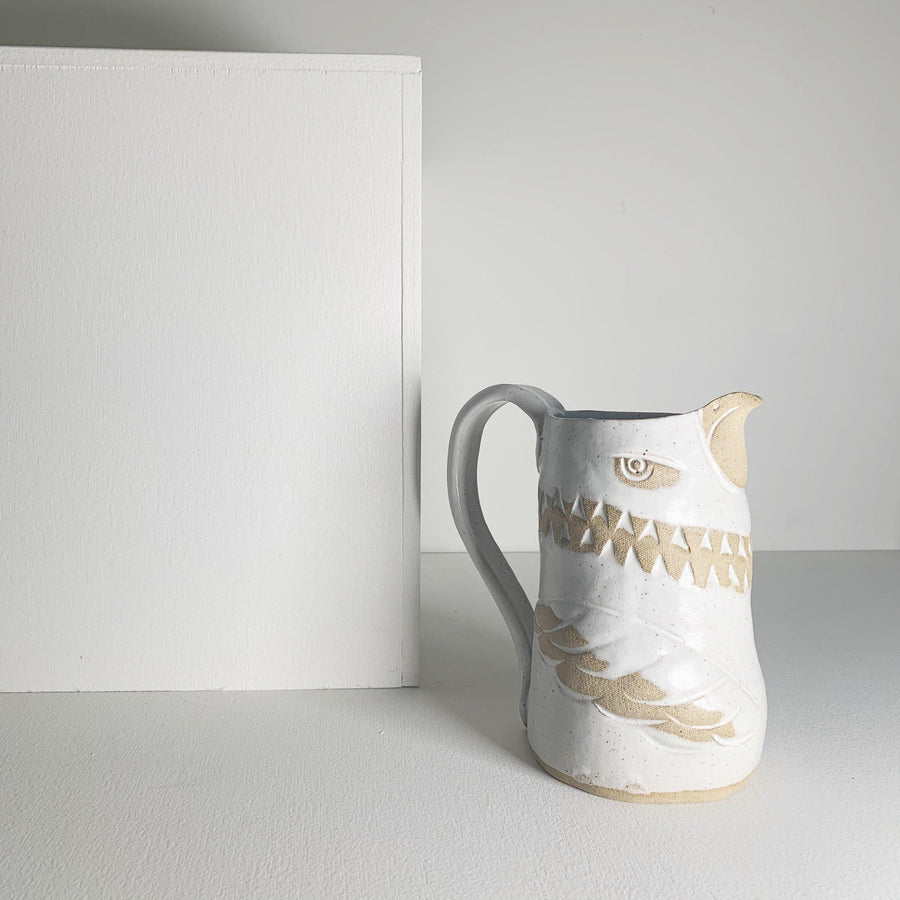 Handmade Ceramic Bird Pitcher