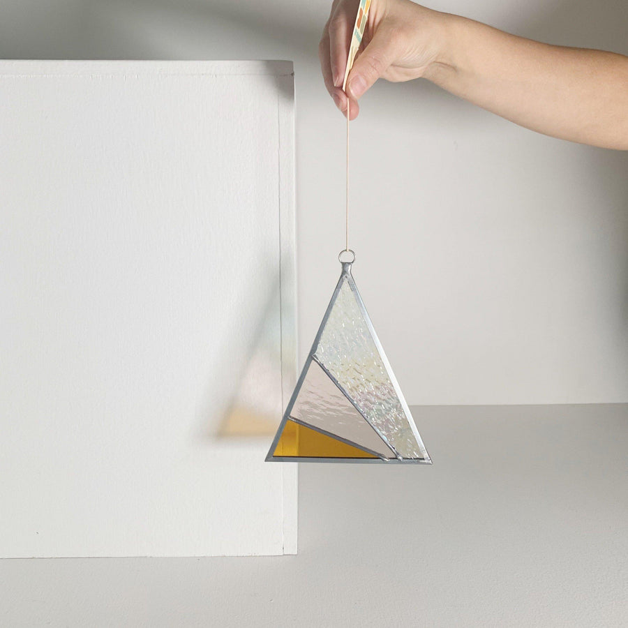 Triangle Suncatcher /Iridescent