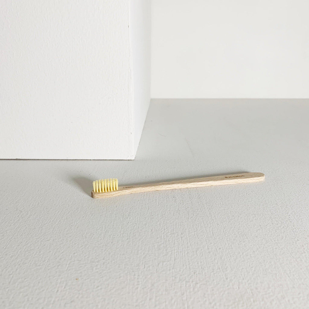 Waxed Beech Toothbrush