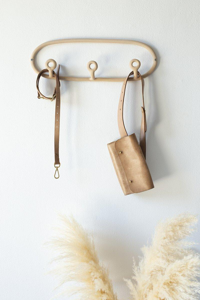 Handmade Trio Coat Rack