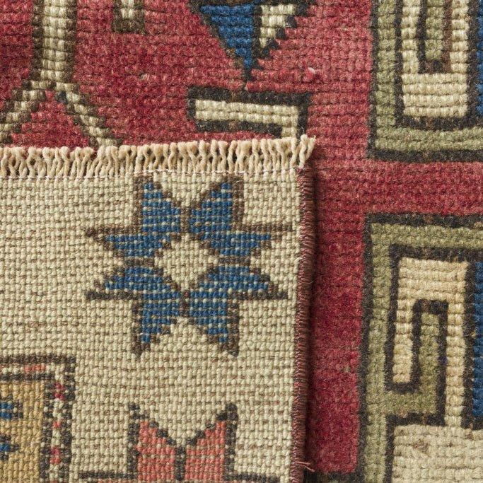 "4'4"" x 6'5"" Vintage Turkish Rug/ Paavo"