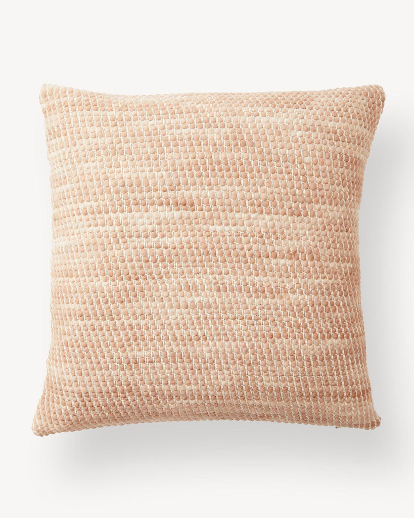 Handwoven Sheila Pillow / Salmon