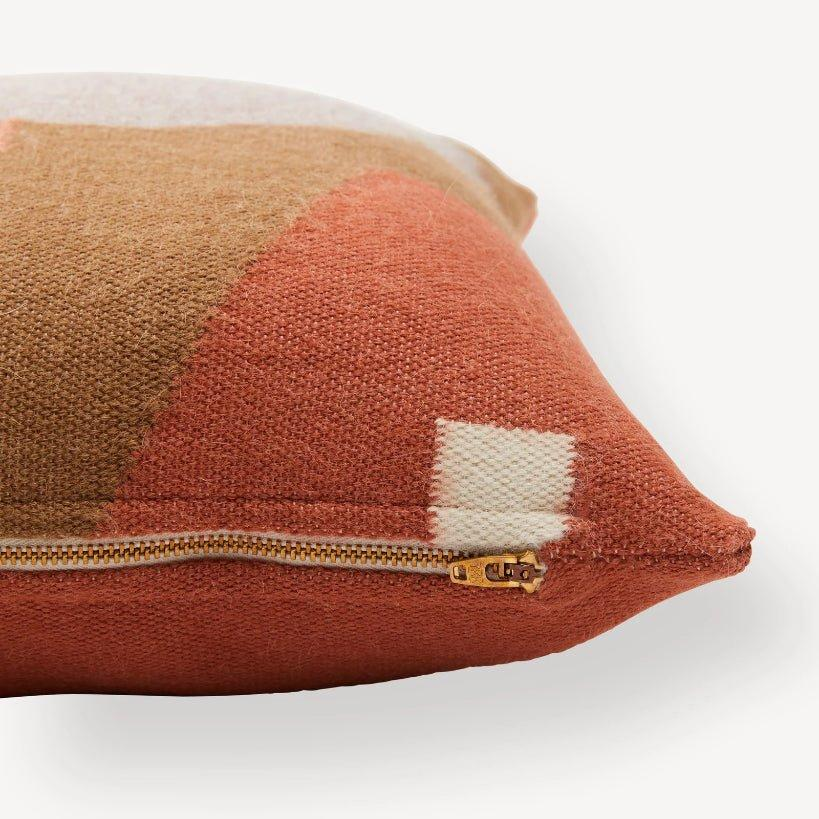 Handwoven Julie Pillow / Terracotta