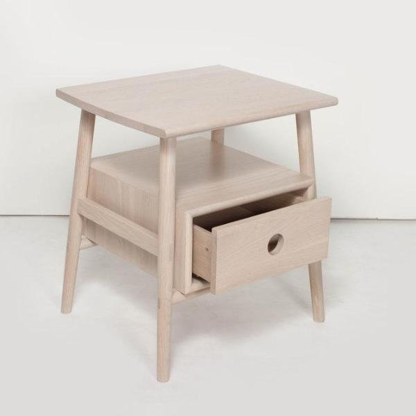 Sitka Side Table / Nude