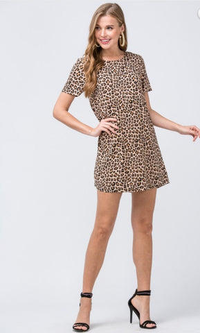Lanny Leopard Dress