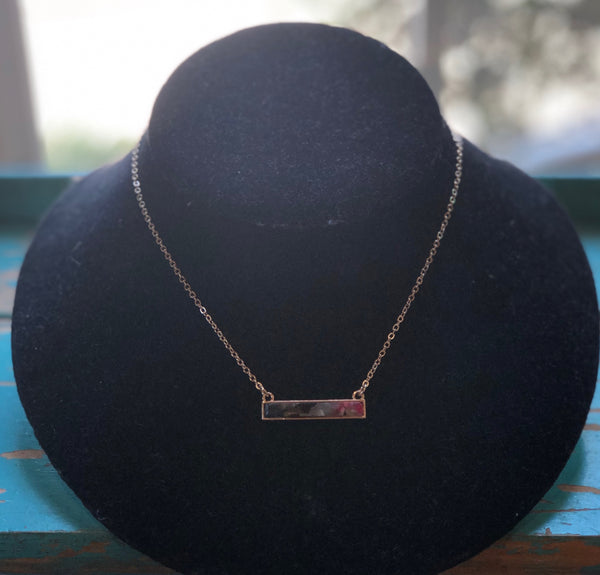 Small Bar Necklace